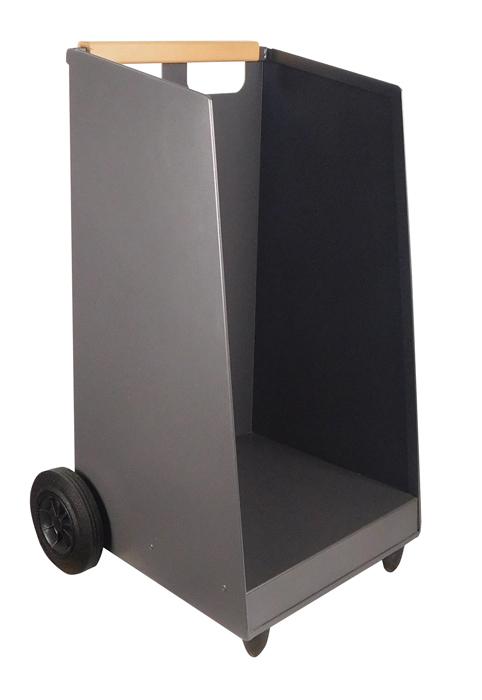 kaminholzwagen vulcano eisenglimmergrau liemke metalltechnik. Black Bedroom Furniture Sets. Home Design Ideas